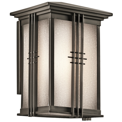Kichler Lighting Kichler Outdoor Wall Light in Bronze Finish 49158OZ