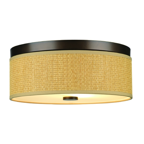 Philips Lighting Modern Flushmount Lights in Sorrel Bronze Finish F615120
