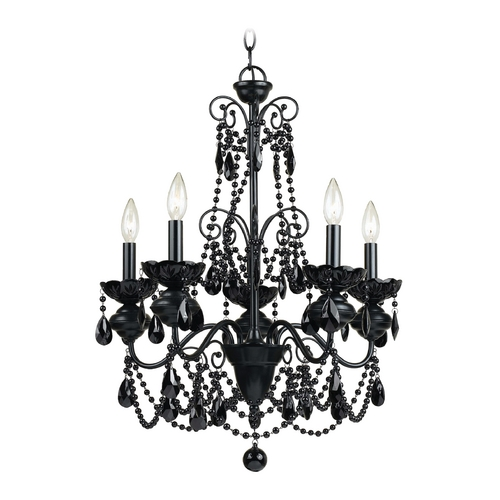 AF Lighting Mischief Chandelier 7506-5H