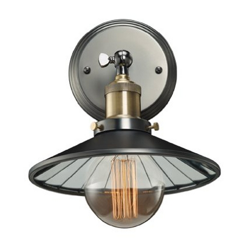 Bulbrite Sconce Wall Light in Antique Pewter Finish 810021