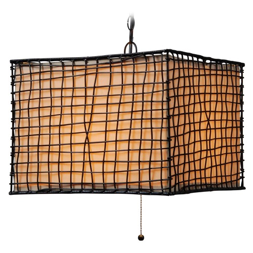 Kenroy Home Lighting Kenroy Home Lighting Trellis Bronze Outdoor Hanging Light 93399BRZ