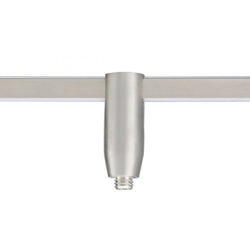 WAC Lighting Wac Lighting Brushed Nickel Rail, Cable, Track Accessory LM-QADP-BN