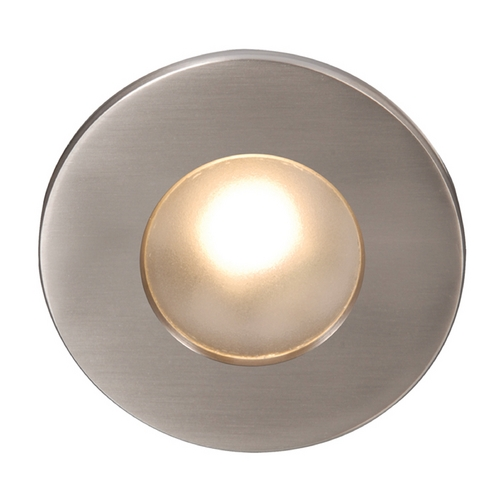 WAC Lighting Wac Lighting Brushed Nickel LED Recessed Step Light WL-LED310-C-BN