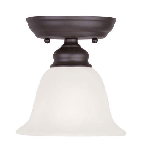 Livex Lighting Livex Lighting Essex Bronze Semi-Flushmount Light 1350-07