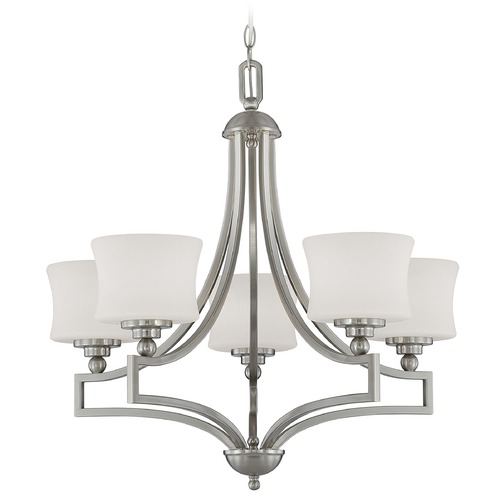 Savoy House Savoy House Satin Nickel Chandelier 1P-7210-5-SN