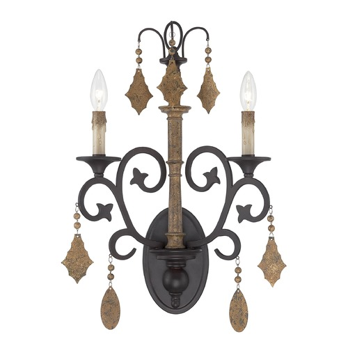 Savoy House Savoy House Lighting Aragon Penate Gold Sconce 9-503-2-286