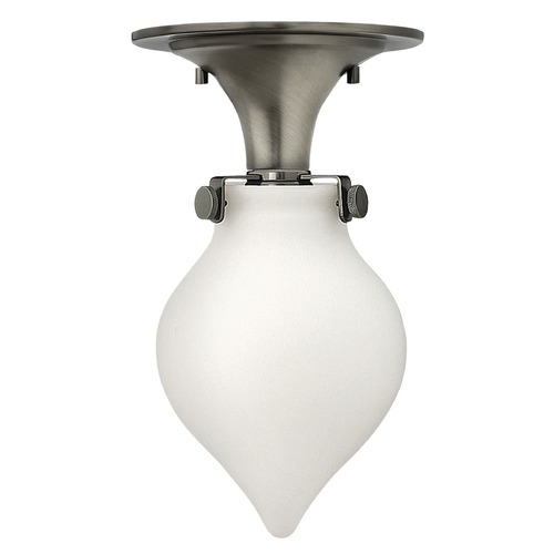 Hinkley Lighting Hinkley Lighting Congress Antique Nickel LED Flushmount Light 3145AN-LED