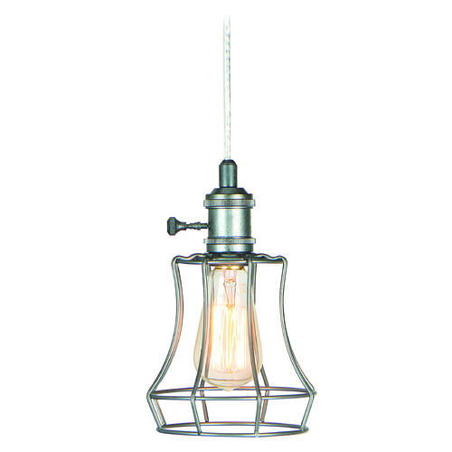 Craftmade Lighting Craftmade Aged Galvanized Mini-Pendant Light KPMK110-AGV