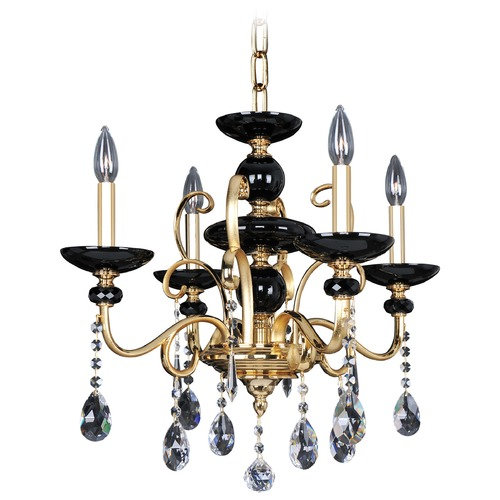 Allegri Lighting Cimarosa 4 Light Crystal Chandelier 024950-016-FR001