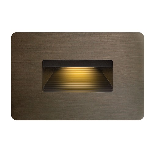 Hinkley Lighting Hinkley Lighting Luna Bronze LED Recessed Step Light 15508MZ