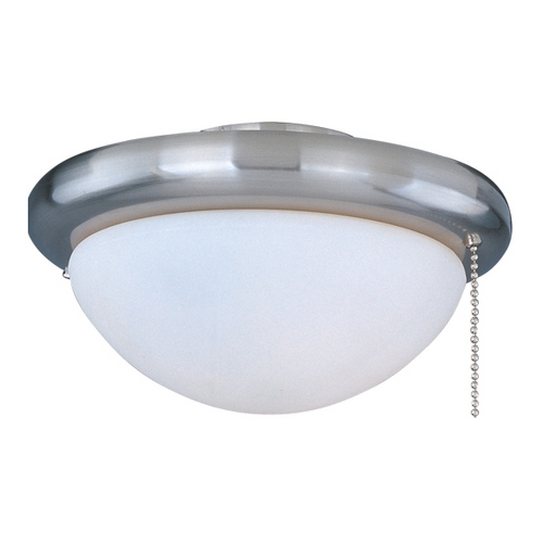 Maxim Lighting Light Kit with White in Satin Nickel Finish FKT206SN