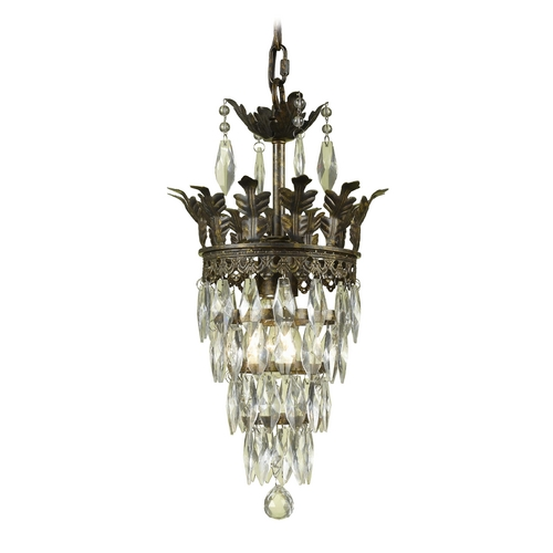 AF Lighting Swag Mini-Chandelier Light 7507-1H