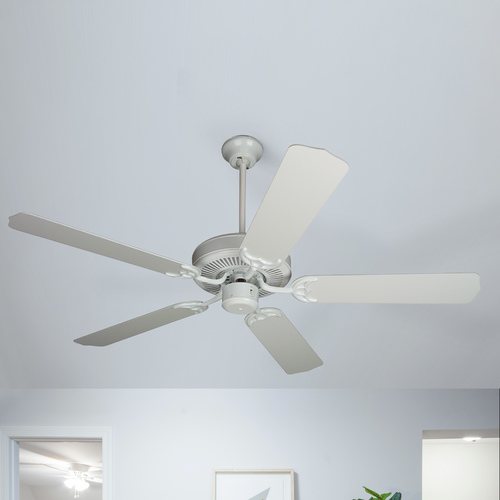 Craftmade Lighting 52-Inch Ceiling Fan with Five Blades CD52W/BCD-5W