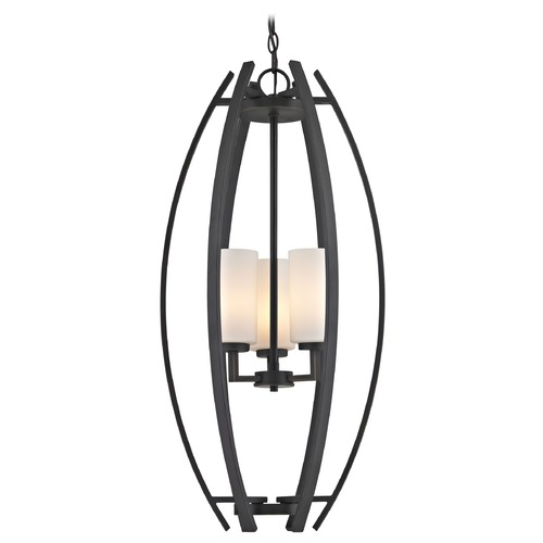 Design Classics Lighting Serenity Bolivian Pendant Light with Cylindrical Shade 1692-78