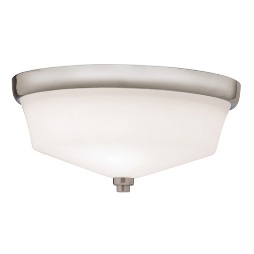 Kichler Lighting Kichler Flushmount Light with White Glass in Olde Bronze Finish 8044OZ
