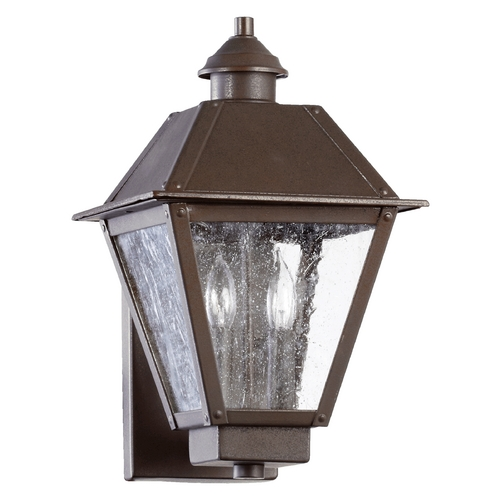 Quorum Lighting Quorum Lighting Emile Oiled Bronze Outdoor Wall Light 7024-2-86