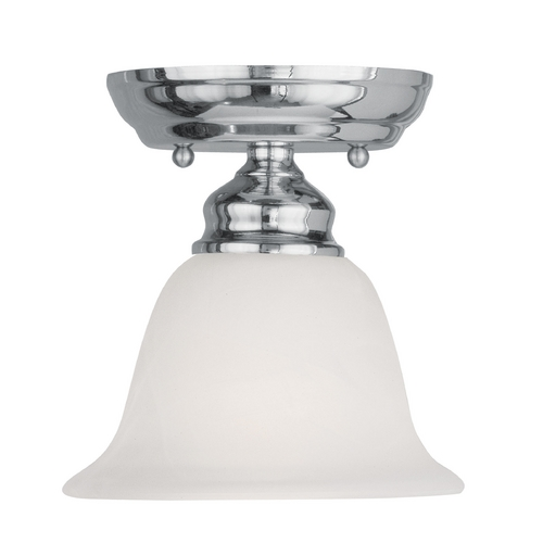 Livex Lighting Livex Lighting Essex Chrome Semi-Flushmount Light 1350-05