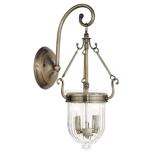 Livex Lighting Livex Lighting Coventry Antique Brass Sconce 50511-01
