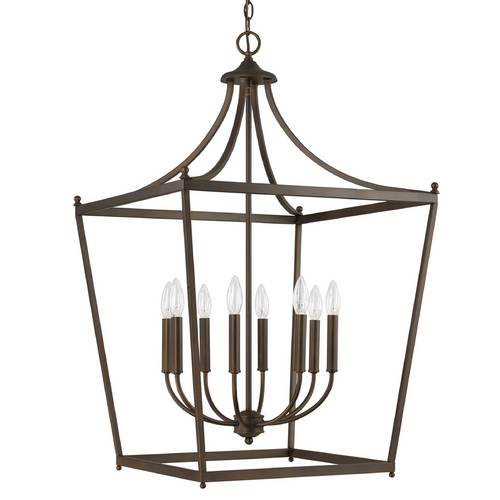 Capital Lighting Capital Lighting Burnished Bronze Pendant Light 9553BB