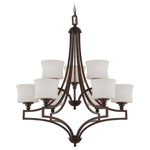 Savoy House Savoy House English Bronze Chandelier 1P-7211-9-13