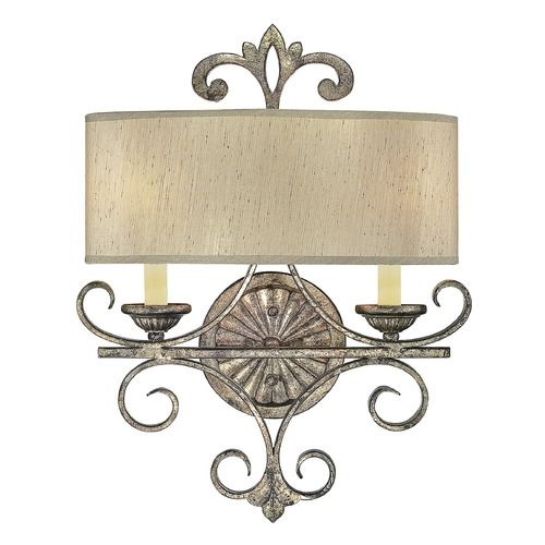 Savoy House Savoy House Oxidized Silver Sconce 9-511-2-128