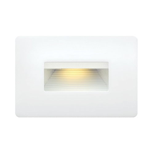 Hinkley Lighting Hinkley Lighting Luna Satin White LED Recessed Step Light 15508SW