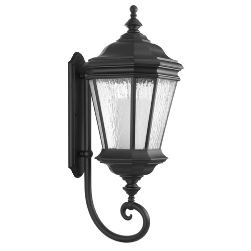 Progress Lighting Progress Lighting Crawford CFL Black Outdoor Wall Light P6633-31