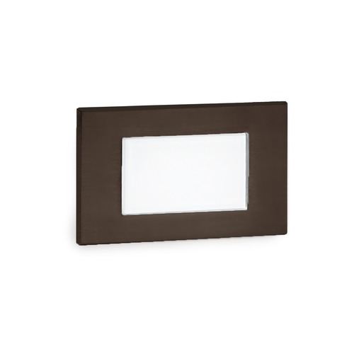 WAC Lighting WAC Lighting Wac Landscape Bronze LED Recessed Step Light WL-LED130F-AM-BZ