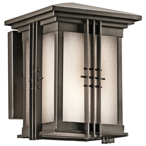 Kichler Lighting Kichler Outdoor Wall Light in Bronze Finish 49157OZ