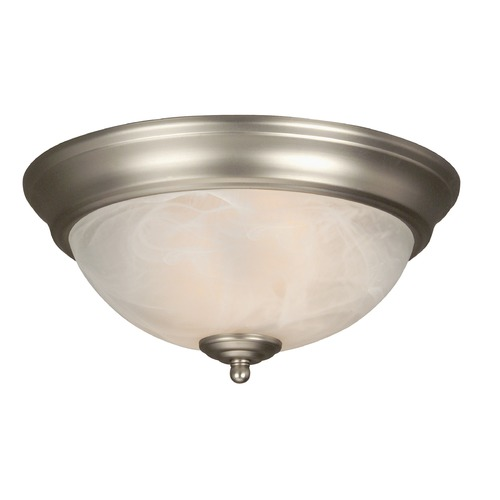 Jeremiah Lighting Jeremiah Brushed Satin Nickel Flushmount Light X211-BN-NRG