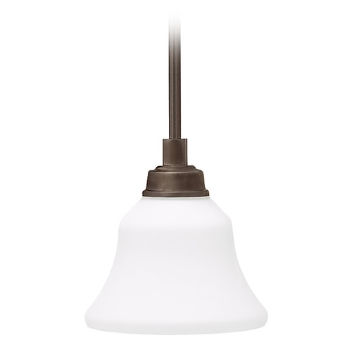 Kichler Lighting Kichler Mini-Pendant Light with White Glass 3482OZ