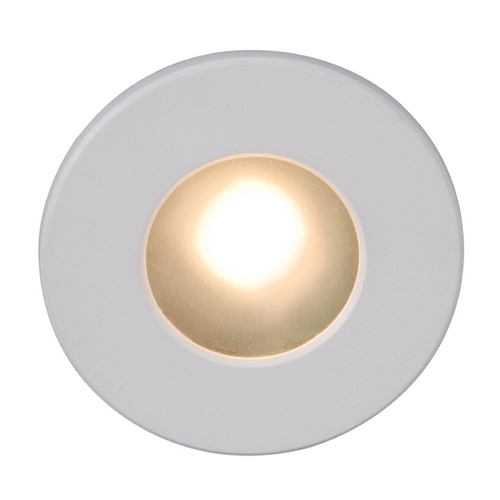 WAC Lighting Wac Lighting White LED Recessed Step Light WL-LED310-C-WT