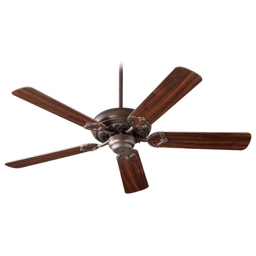 Quorum Lighting Quorum Lighting Monticello Oiled Bronze Ceiling Fan Without Light 17525-86