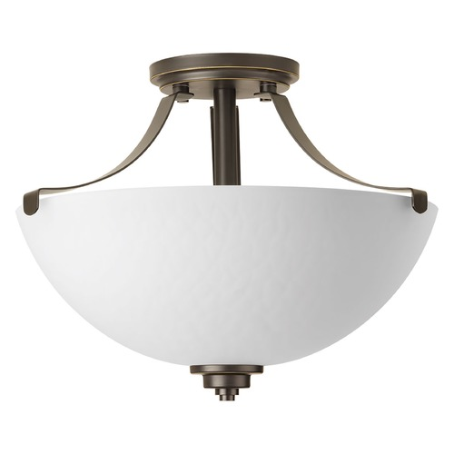 Progress Lighting Progress Lighting Legend Antique Bronze Semi-Flushmount Light P2315-20