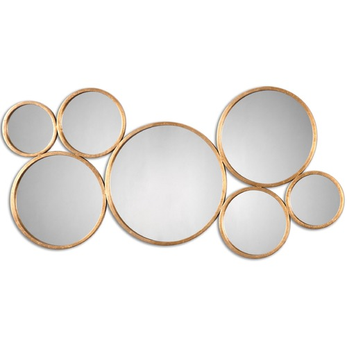 Uttermost Lighting Uttermost Kanna Gold Wall Mirror 13934