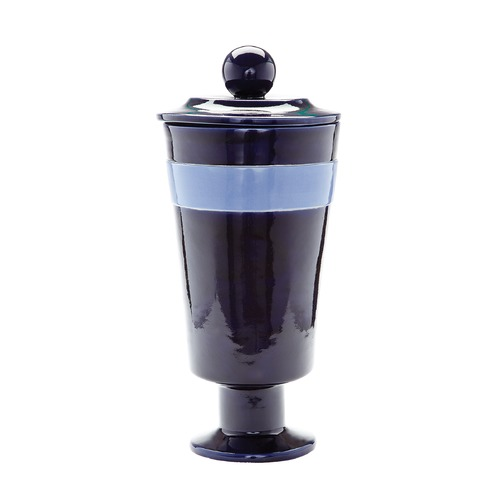 Dimond Lighting Navy And Denim Polar Vase - Large 857112