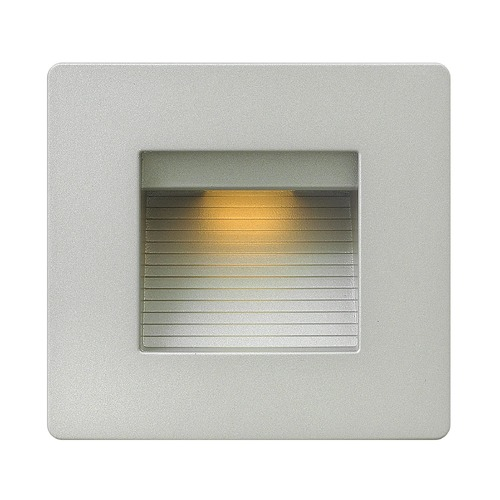 Hinkley Hinkley Luna Titanium LED Recessed Step Light 15508TT