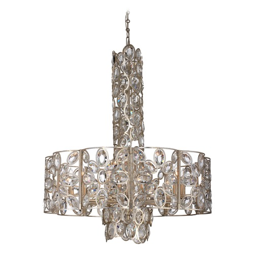 Crystorama Lighting Crystorama Lighting Sterling Distressed Twilight Pendant Light 7589-DT