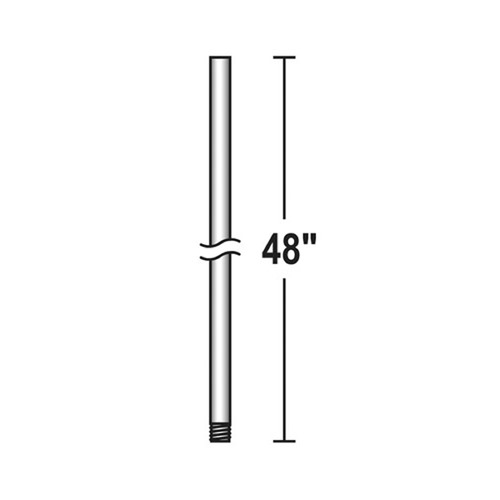 Savoy House Savoy House Lighting Downrod Silver Dust Fan Downrod DR-48-272