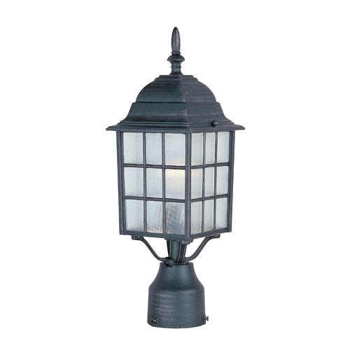 Maxim Lighting Maxim Lighting North Church Rust Patina Post Light 1052RP