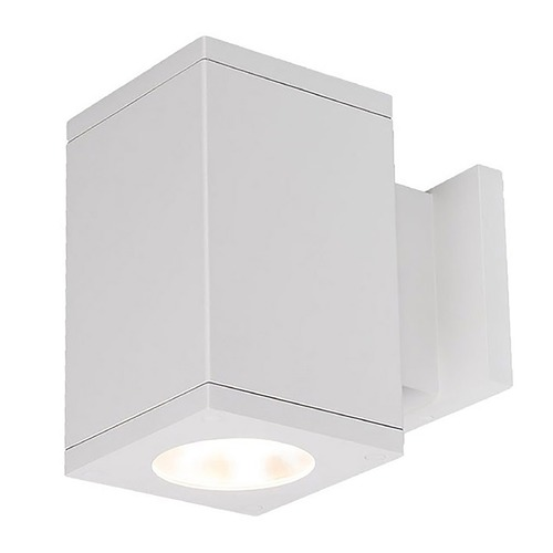 WAC Lighting Wac Lighting Cube Arch White LED Outdoor Wall Light DC-WS05-F835B-WT