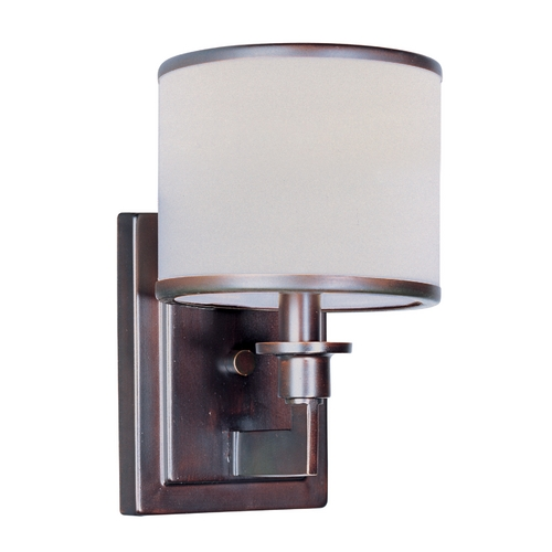 Maxim Lighting Mid-Century Modern Sconce Oil Rubbed Bronze Nexus by Maxim Lighting 12059WTOI