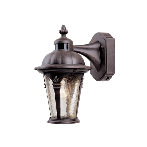 Designers Fountain Lighting Outdoor Wall Light with Clear Glass in Autumn Gold Finish 2900MD-AG