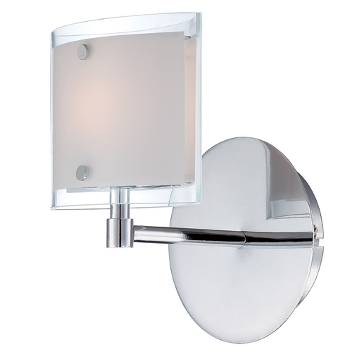 Lite Source Lighting Lite Source Lighting Icety Chrome Sconce LS-16351