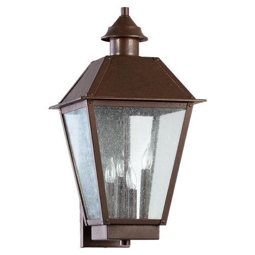 Quorum Lighting Quorum Lighting Emile Oiled Bronze Outdoor Wall Light 7024-4-86