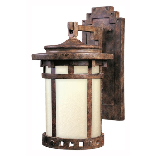 Maxim Lighting Maxim Lighting Santa Barbara LED Sienna LED Outdoor Wall Light 55033MOSE