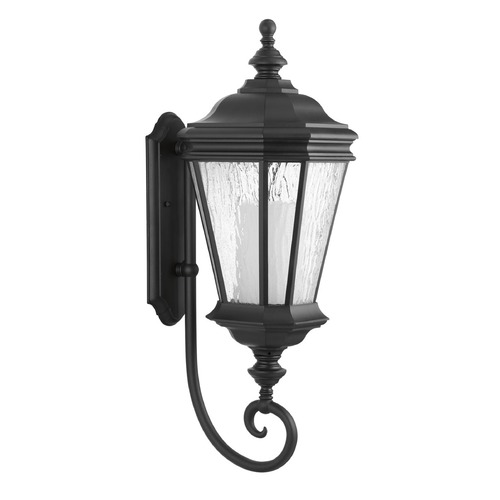 Progress Lighting Progress Lighting Crawford CFL Black Outdoor Wall Light P6632-31