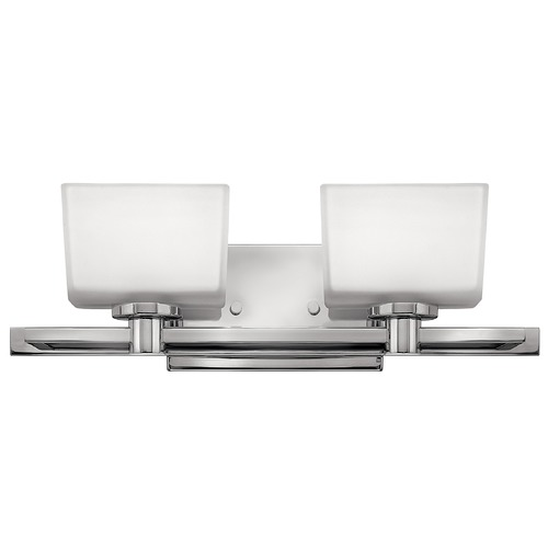 Hinkley Hinkley Taylor 2-Light Chrome LED Bathroom Light 3000K 850LM 5022CM-LED