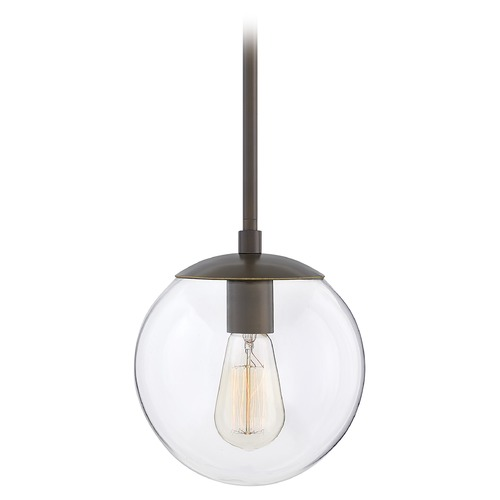 Hinkley Hinkley Warby 1-Light Light Oiled Bronze Pendant Light 3747LZ