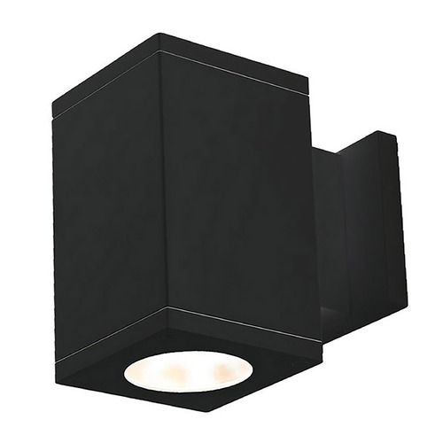 WAC Lighting Wac Lighting Cube Arch Black LED Outdoor Wall Light DC-WS05-F835S-BK